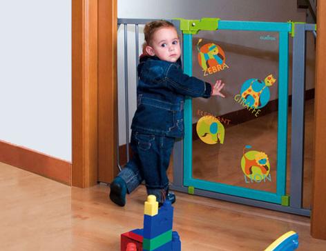 Puerta Seguridad Niños Olmitos Animals 73-85 cm