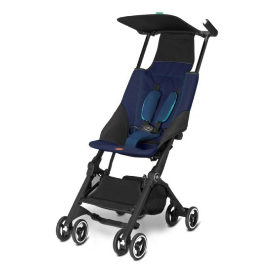 Silla Paseo Gb Pockit Seaport Blue