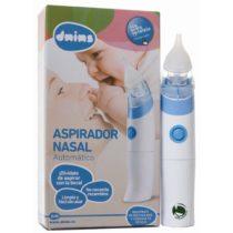 Aspirador Nasal Dnins Automático + Suero fisiológico 30 unidosis