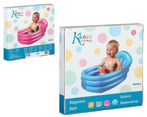 Bañera Hinchable Bebe Kiokids 0-12 meses