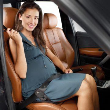 cinturon seguridad embarazada jane