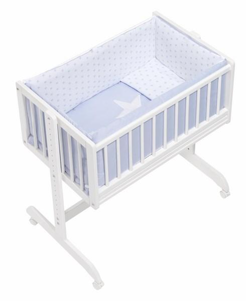 Minicuna Colecho Interbaby Madera para bebes recien nacido