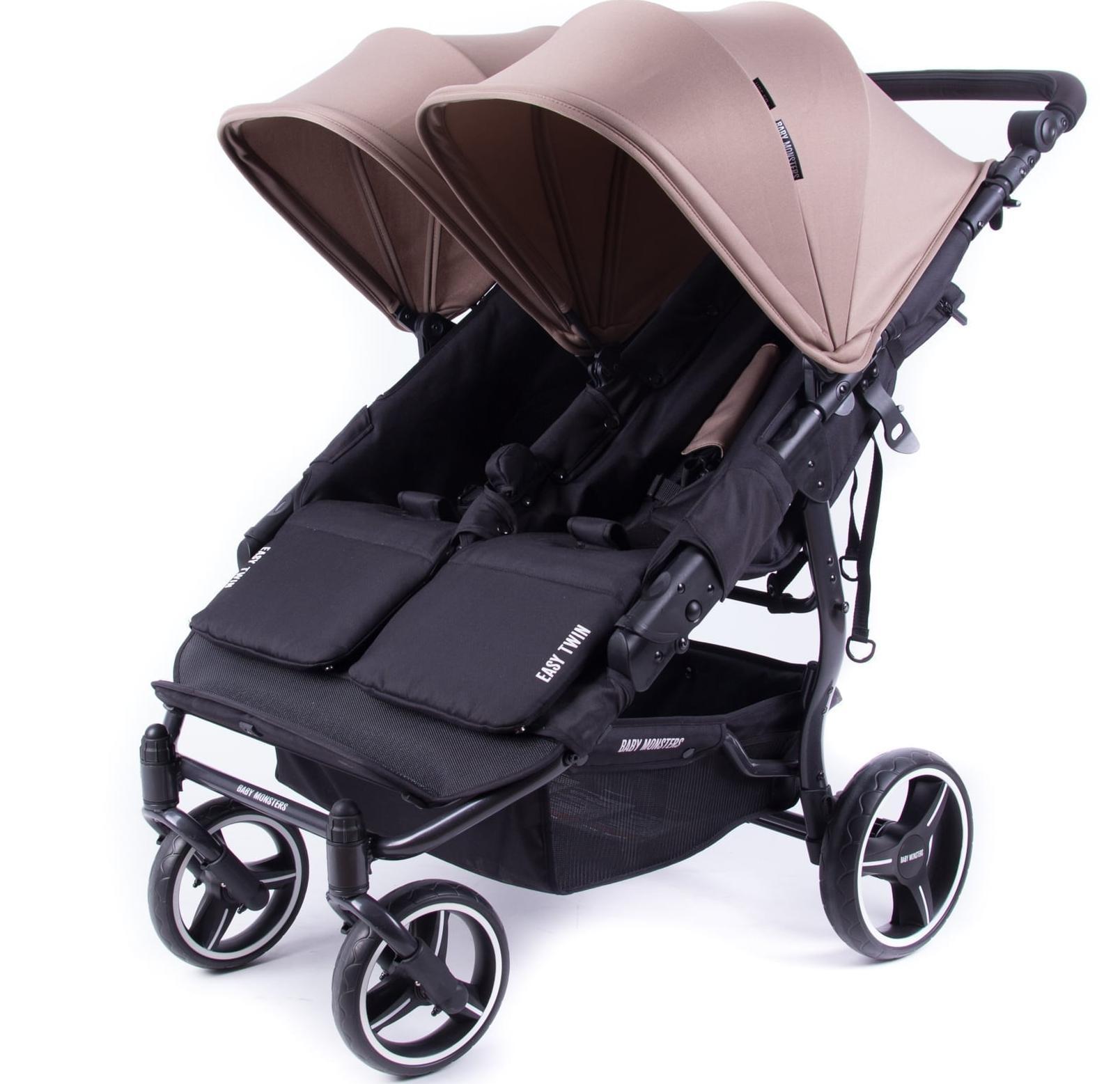 Easy 3s Monster Baby Twin Silla Cochecito Gemelar wm8n0N