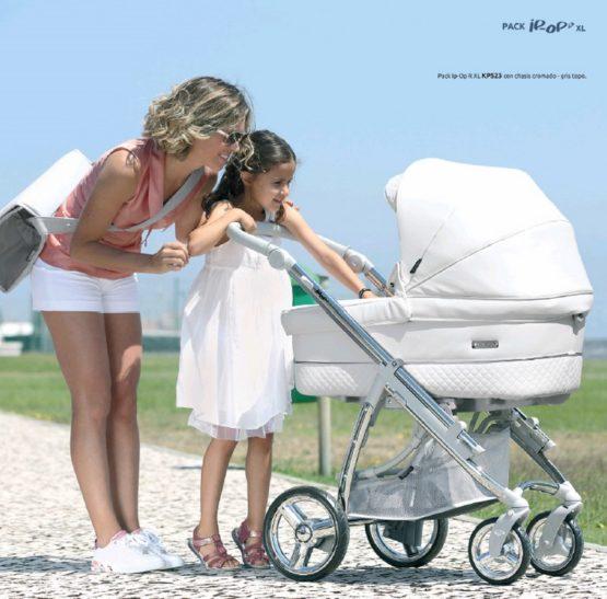 Cochecito Bebecar Pack Ip Op XL 2020 Blanco