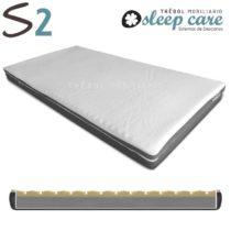Colchon plagiocefalia Trebol Sleep Care S2 COMPACT