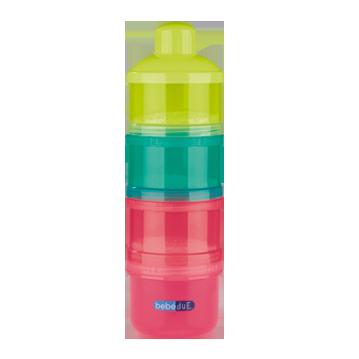 Dosificador Bebedue 4 tomas Apilable Colours&Flavours
