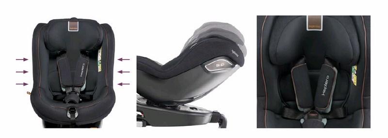 silla auto inglesina keplero