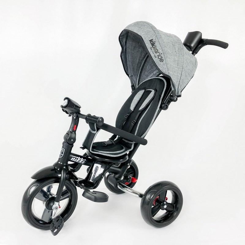 triciclo kikkaboo nikki gris oscuro 4